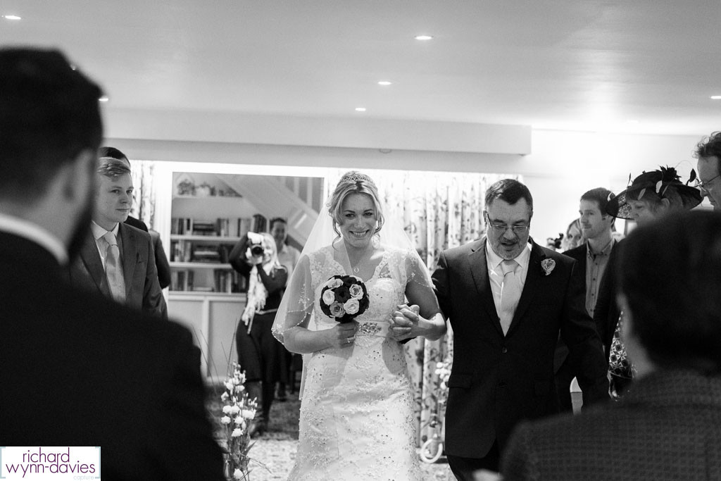 Zoe & Ben's Easter Wedding at Holdsworth House