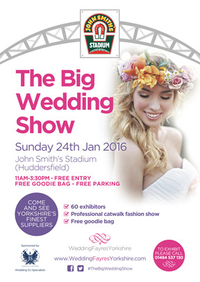 The Big Wedding Show Huddersfield