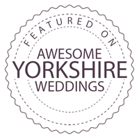 Featured on Awesome Yorkshire Weddings
