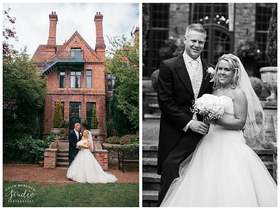 Wedding photography at Aldwark Manor wedding venue in Yorkshire