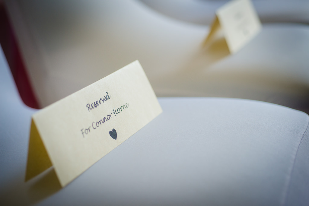 Wedding name cards