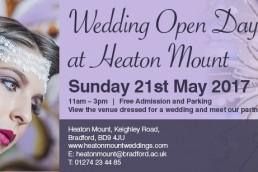 Heaton Mount wedding open day