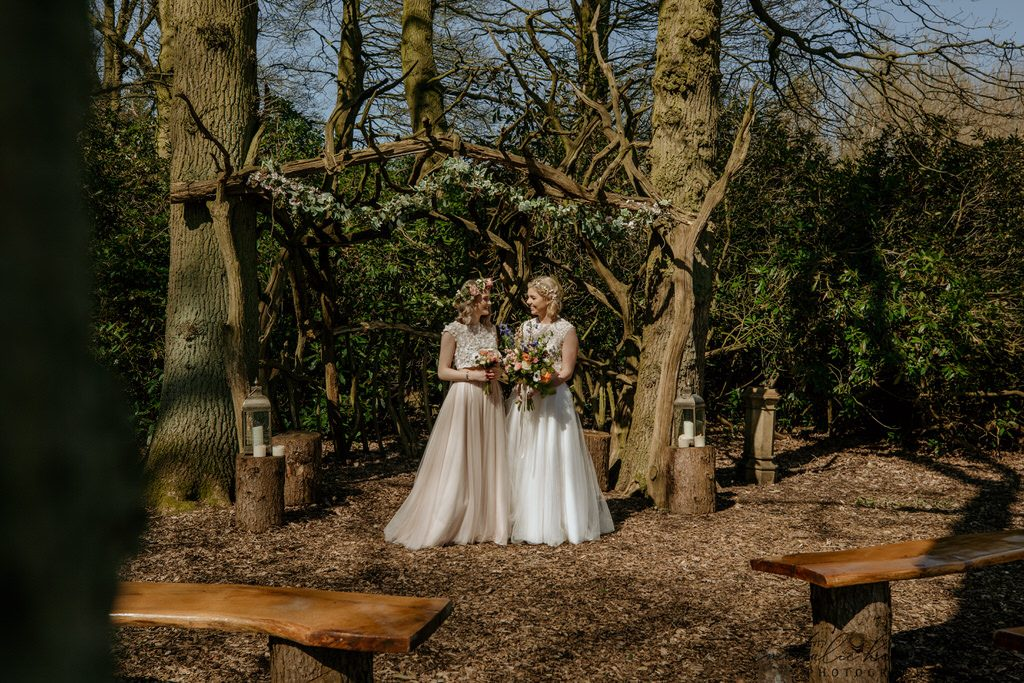 Whimsical and boho wedding styled shoot at Escrick Park Estate