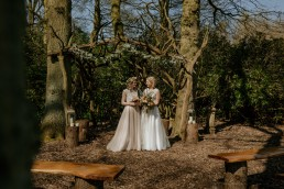 Whimsical and boho wedding styled shoot at Escrick Park Estate