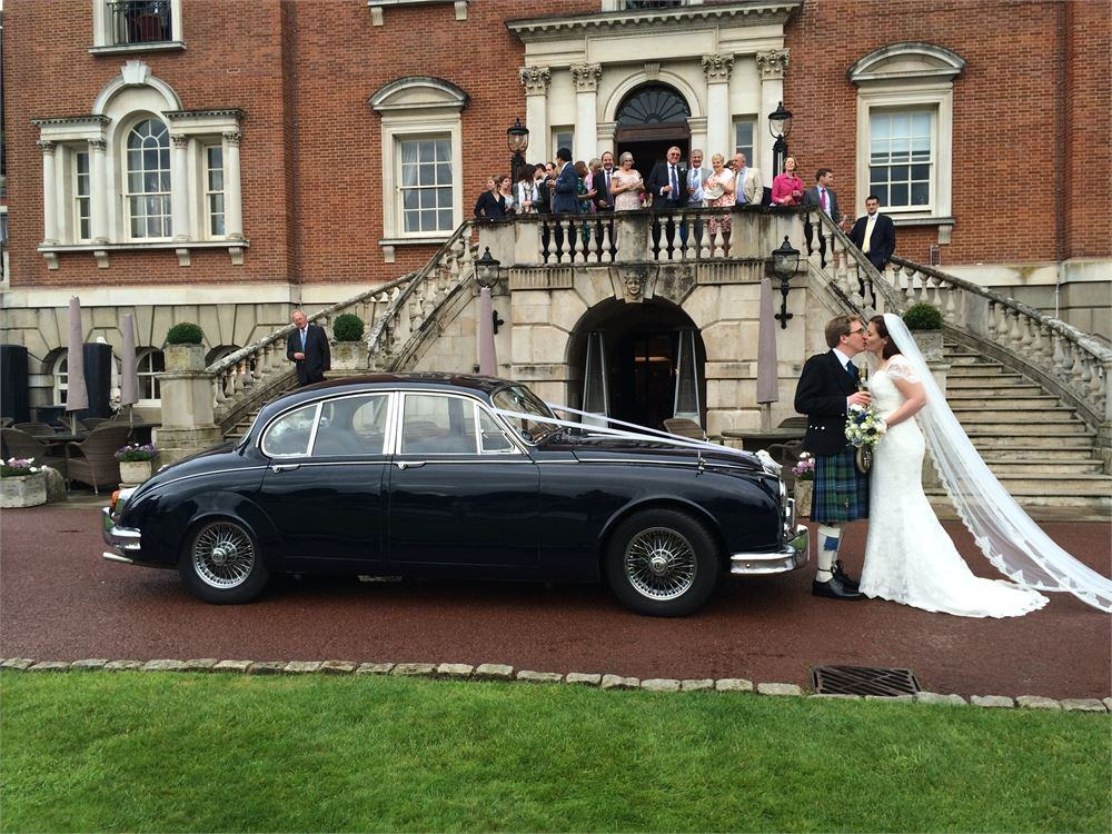 Daimler wedding car