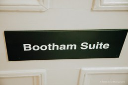 The Bootham Suite at York Registry Office