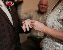 Wedding ceremony at York Registry Office